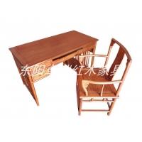 供应东阳红木大果紫檀花鸟办公桌