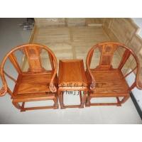 厂家直销东阳红木家具生产供应非洲花梨皇宫椅三件套