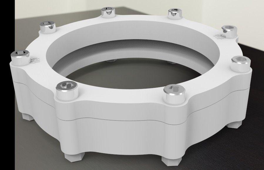PE沟槽端面式同层排水管材管件