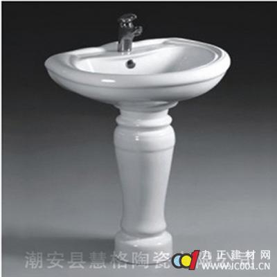 成都惠格卫浴立柱盆2046