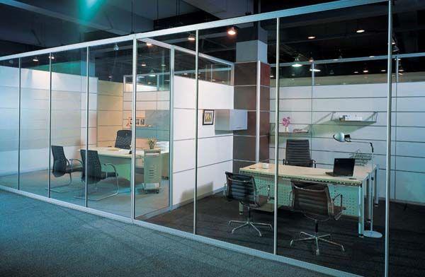 玻璃隔断 办公隔断 百叶隔断 隔断铝型材