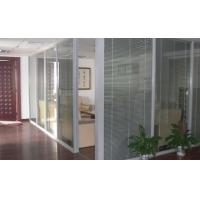 南通玻璃隔墙/办公隔断/双玻百叶隔断墙