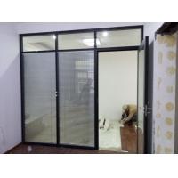 泰州玻璃隔间/办公隔断墙/百叶隔断型材