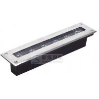 供应高品质长条形LED6*1W单色/七彩户外照明亮化地埋灯