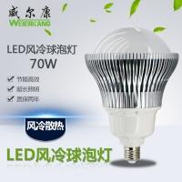 LED大功率球泡灯70W风冷灯工棚灯仓库厂房灯节能