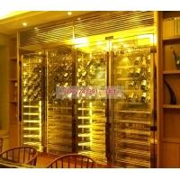 不锈钢酒柜案例,不锈钢酒柜平面设计,酒柜简介