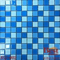 泳池水晶马赛克 蓝色水晶马赛克