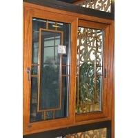 75系列欧式铝包木门窗