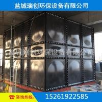 搪瓷拼装水箱  螺丝连接 消防系统配套  耐弱酸碱水