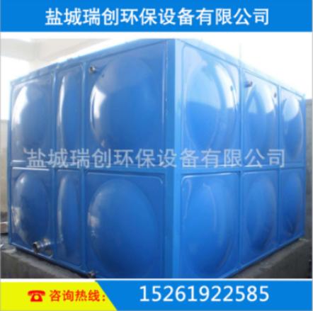 玻璃钢保温消防水箱 外胆彩钢板保护  防渗透 品质保证