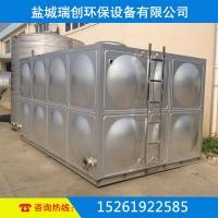 供应不锈钢拼装水箱 地埋储水容器 304材质 工地现场焊接