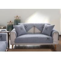 预售北欧亚麻沙发垫真正棉麻四季通用布艺沙发罩全盖包巾防滑坐垫