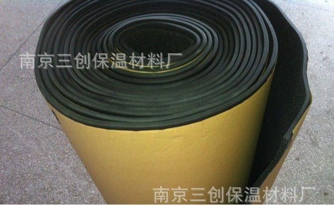 自粘胶橡塑保温板 橡塑不干胶板 橡塑背胶板