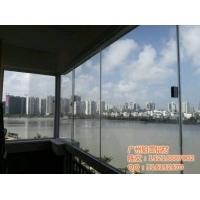 广州铂蕾无框阳台推拉窗