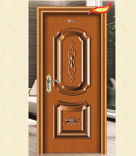 吉利雅奢华反凸系列 JLY-9092缅甸柚木 钢木门