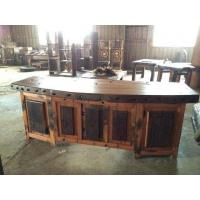 船木书桌 船木电脑桌 船木大班桌 办公台