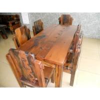 草龙椅 船木餐椅 船木椅子 仿古餐椅 船木材质 厚重款