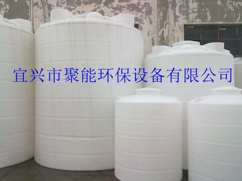 10吨白色塑料桶,圆柱形大水箱