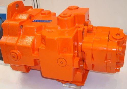 挖掘机液压件液压柱塞泵图片