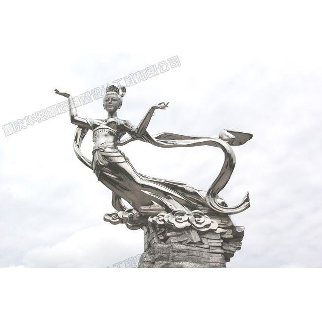 华阳仙女雕塑/重庆雕塑设计制作公司/重庆雕塑