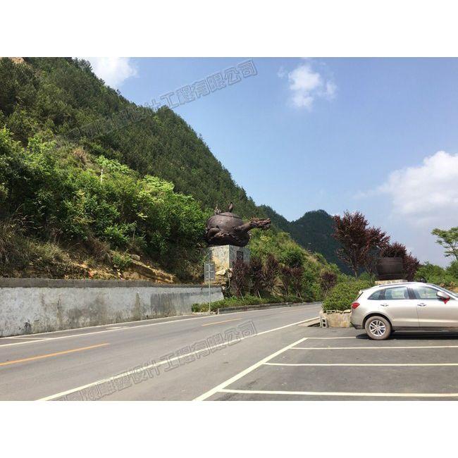 贵州茶壶雕塑/云阳景区雕塑设计/重庆雕塑
