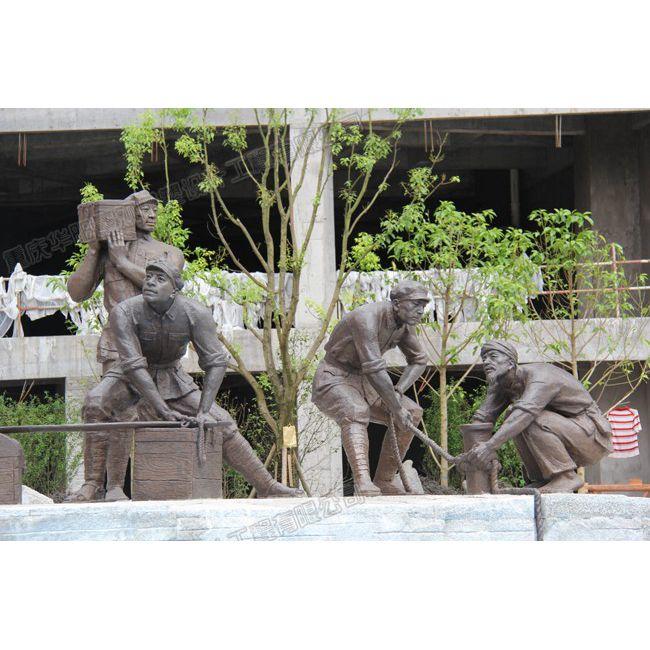 贵州红军雕塑制作/贵州雕塑工厂/贵州雕塑公司