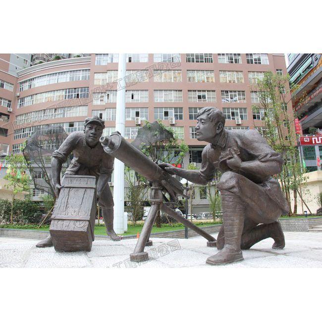 贵州红军雕塑设计/贵州铜雕工厂/贵州雕塑公司