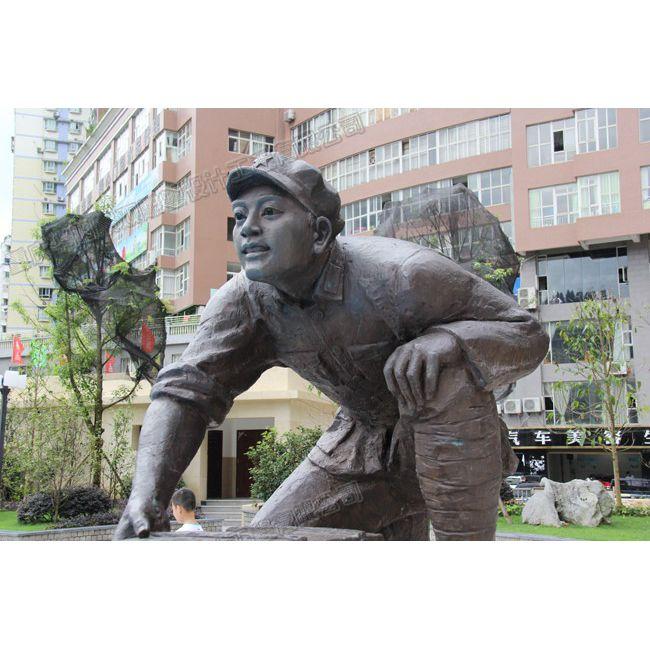贵州红军雕塑工厂/贵州人物雕塑价格/贵州雕塑