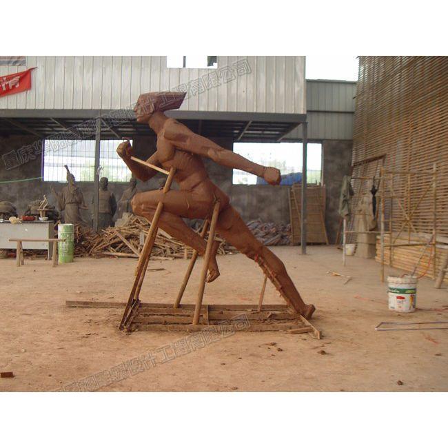 运动型人物雕塑/体育运动雕塑/重庆雕塑