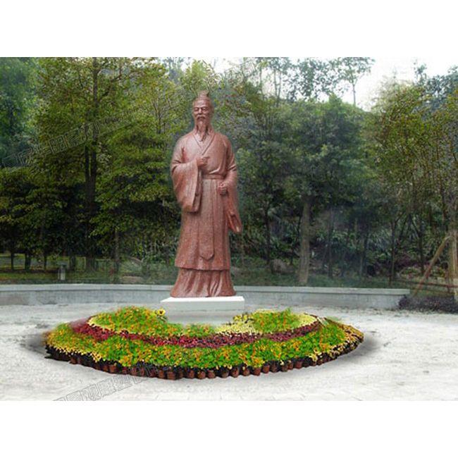 公园人物雕塑设计/公园名人雕塑制作/四川雕塑厂家