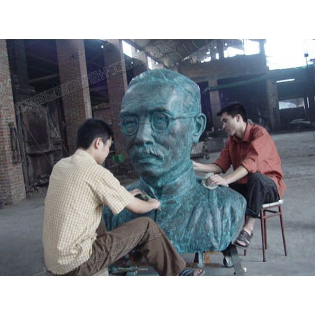 蔡元培人物雕塑/名人雕塑制作公司/重庆雕塑