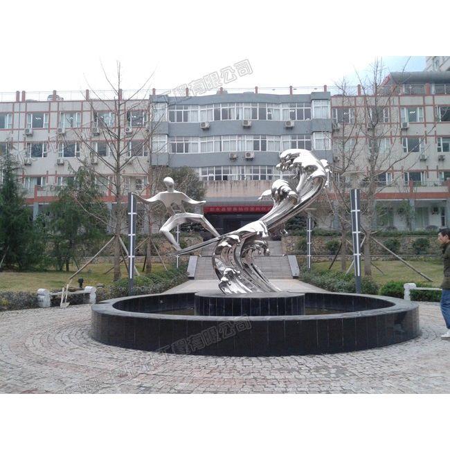 云南不锈钢雕塑工厂/云南城市雕塑设计/云南雕塑