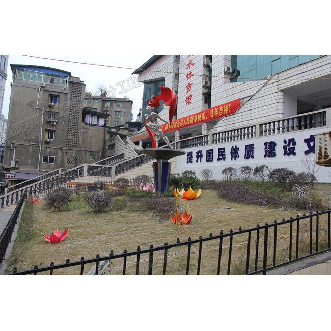 体育馆雕塑/运动雕塑设计/重庆雕塑工厂