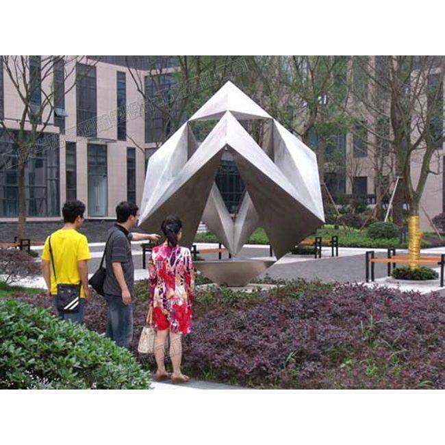 几何体雕塑设计/重庆园林雕塑/重庆雕塑工厂