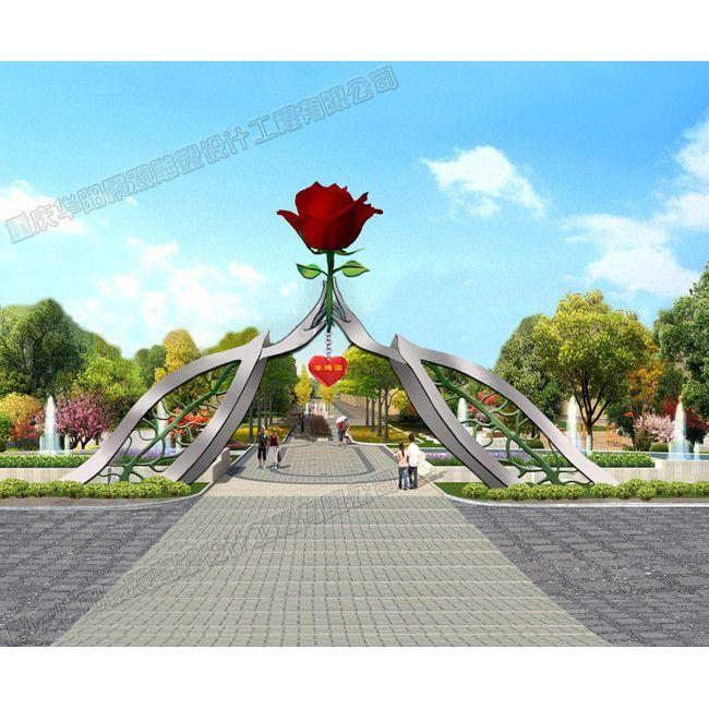 景区艺术大门/工业园区艺术大门/旅游景区大门设计
