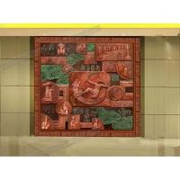 装饰性浮雕壁画/室内浮雕壁画/贵州浮雕设计