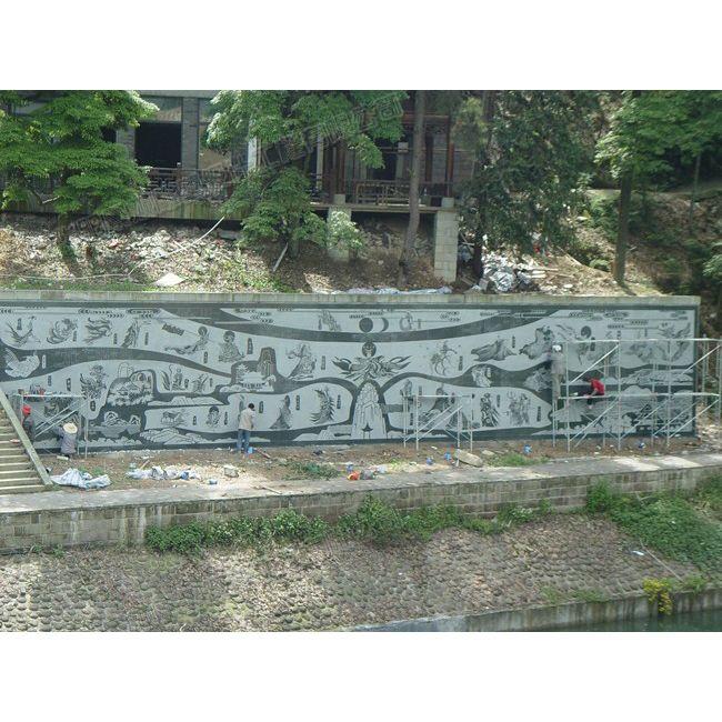 茶山竹海浮雕壁画/重庆浮雕壁画/重庆雕塑工厂
