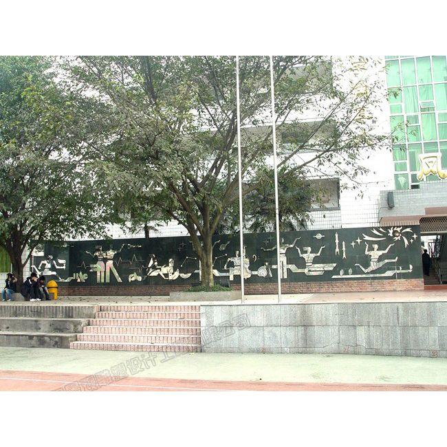 校园浮雕壁画/重庆浮雕壁画制作/重庆校园浮雕