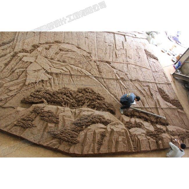 天下第一廊桥雕塑/云阳廊桥浮雕壁画/重庆景区雕塑