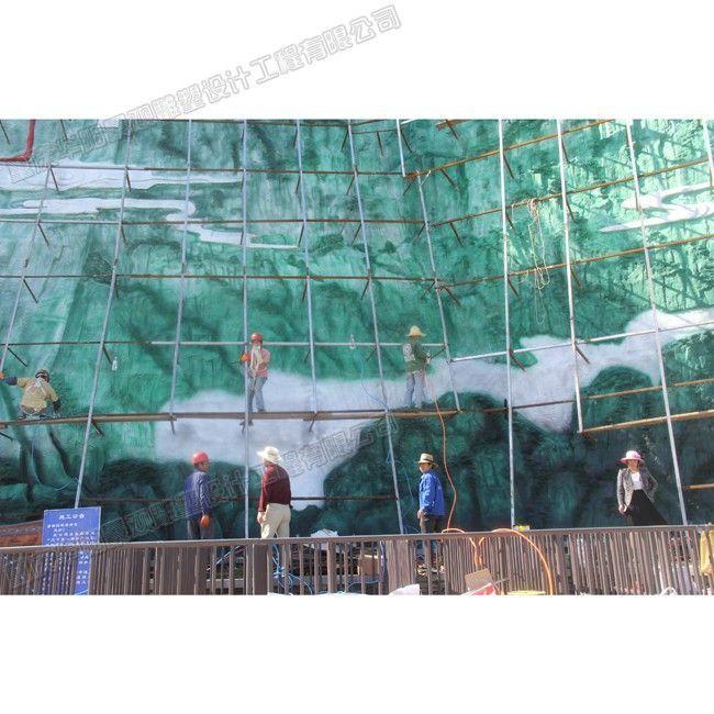 天下第一廊桥浮雕壁画/重庆浮雕设计制作公司/重庆景区雕塑