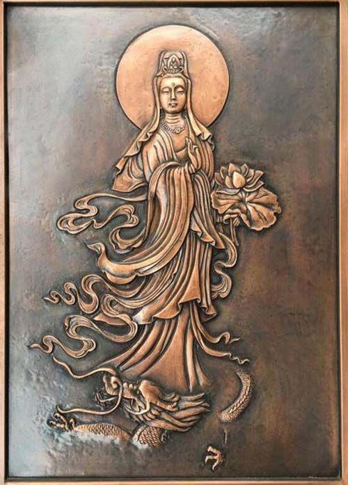 贵州浮雕壁画/贵州观音设计制作/贵州佛像雕塑