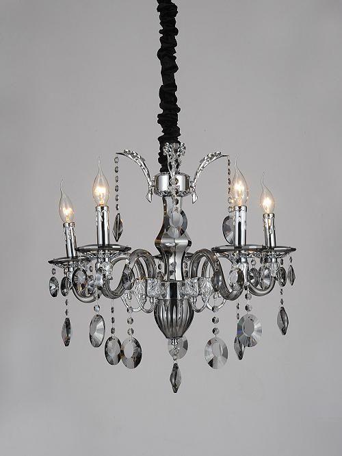 酒店工程灯具欧式复古风格水晶灯图片