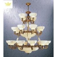 酒店工程灯具欧式复古风格云石灯