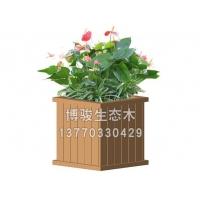 南京生态木花箱-塑木花箱-南京博骏建筑科技