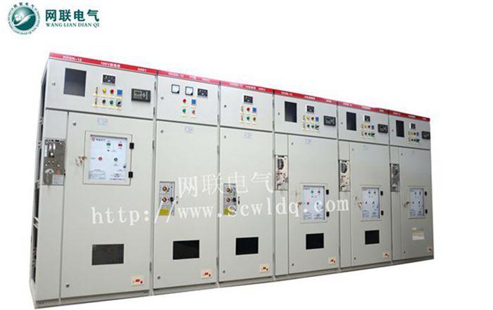 网联电气HXGN-12 630-31.5环网柜高压开关柜