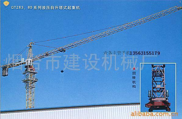 供应塔式起重机qtz63塔机