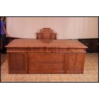 书房家具,2.2米办公桌,红木办公桌