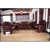 东阳批发红木沙发,锦上添花沙发