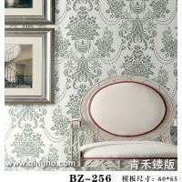 欧式花型 壁纸镂版 镂印版