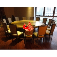 餐厅咖啡厅优质餐桌餐椅  实木框架餐桌 高密度海绵餐厅沙发椅